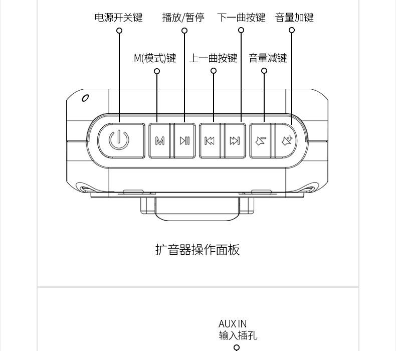 takstar/得胜 e270 小扩音器大功率教师专用蜜蜂无线